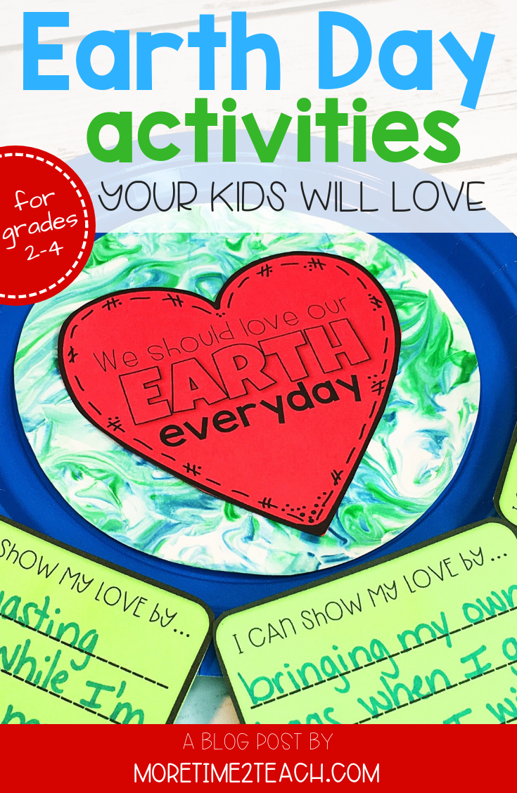 Earth Day should be celebrated EVERYDAY... With these FUN and CREATIVE ideas your kids will have a blast celebrating our beautiful planet!