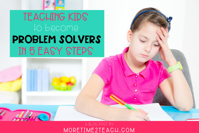 If you want your kids to be problem solvers, then you have to teach them how! Try these 5 EASY STEPS and teach them how to effectively COMMUNICATE and RESOLVE CONFLICTS on their own.