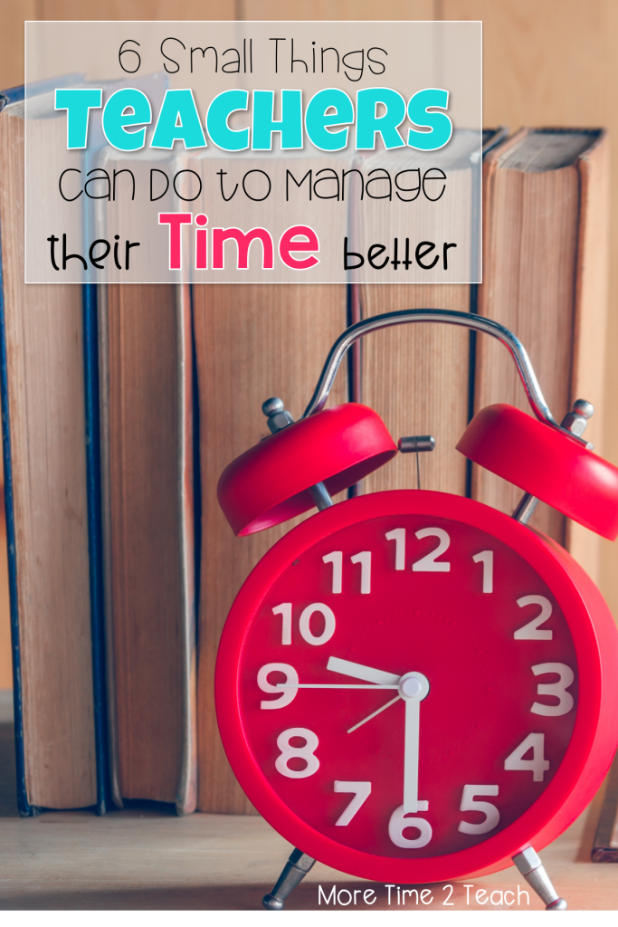 Being a teacher can be overwhelming at times. With papers to grade, lessons to plan for, parents to call, and data to collect there never seems to be enough time in the day. So how do teachers do it? For starters, these 6 small changes will make a world of difference and help to manage that never ending To Do List.