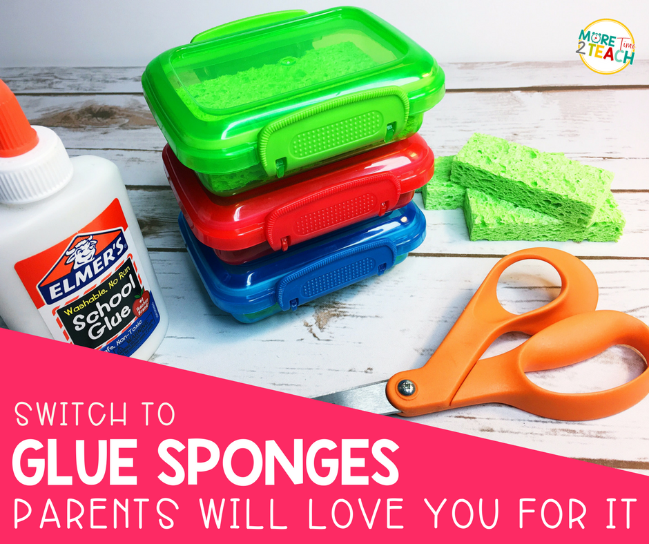 Check out all the reasons why you should stop wasting your money on glue sticks. Glue sponges are the new glue sticks!