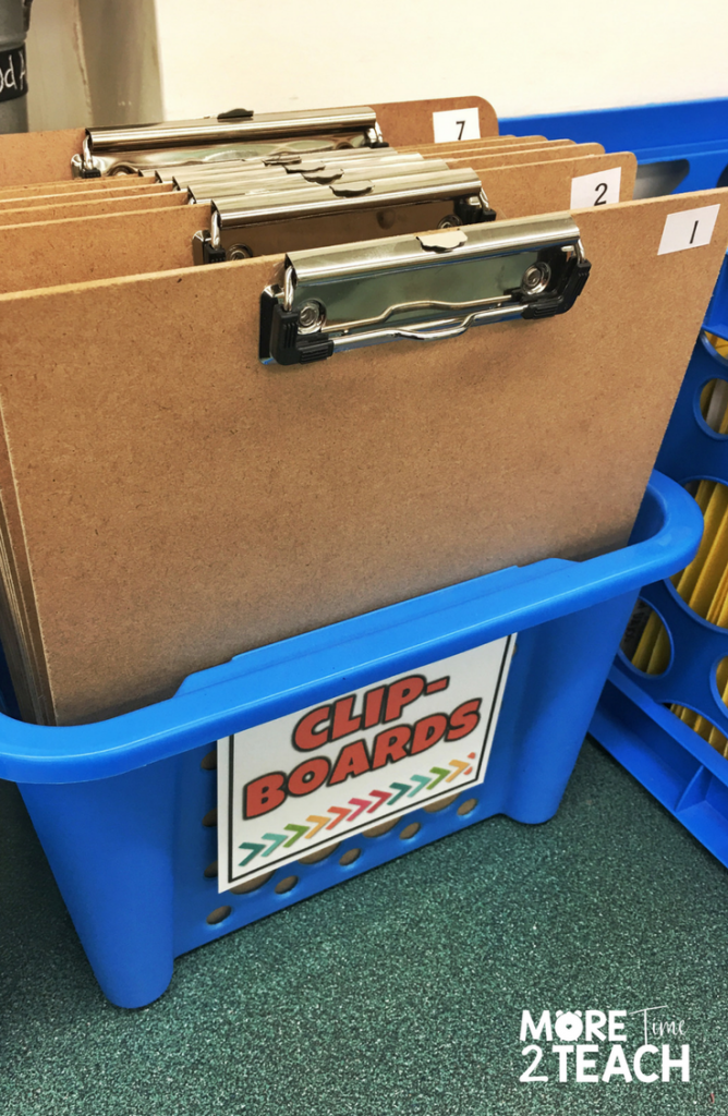 Being a teacher can be overwhelming at times! That's why it's so important to work smarter and not harder. Numbering student clipboards means you only have to do it once and can forget about it