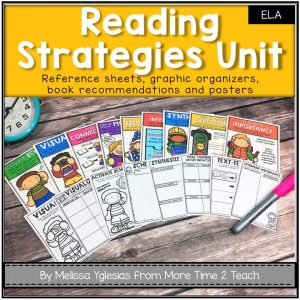 Reading is such a complex process! So how do you improve reading comprehension for a student that is able to read beautifully? This post explains which 9 Reading Strategies you should be focusing on to improve comprehension.