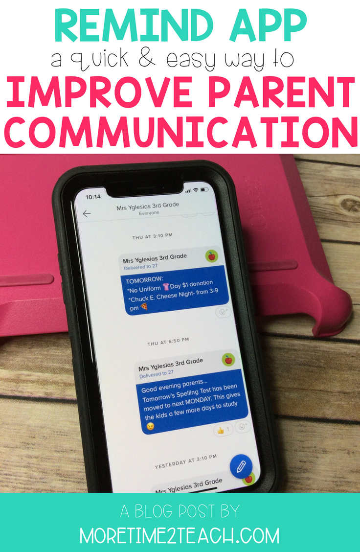 Parent communication is essential for a successful school year! Read about an app that makes it quick, easy, and convenient to keep your parents informed. And to top it all off it's FREE!!!