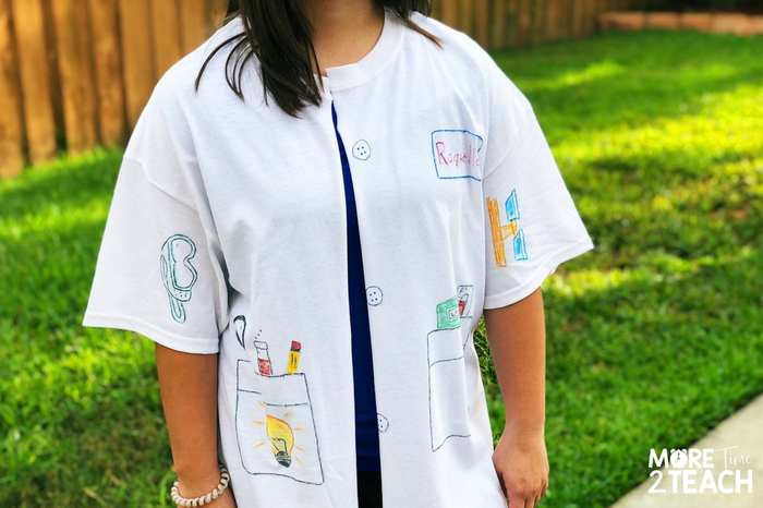 Your kiddos will feel like real Scientists with their very own DIY Science Lab Coat. It's easy, engaging, and makes a perfect introductory lesson. Your kids are going to love science and experimenting!
