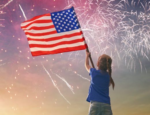 With this easy 4th of July science experiment for kids, your kiddos can make some indoor fireworks in a jar! All you need are a few supplies you probably already have in your kitchen. With a few drops of food coloring, some vegetable oil, cold water, and a jar you'll be watching your own fireworks show. The best part is that while your kiddos are having some science fun, they'll be learning all about density and the properties of different liquids.