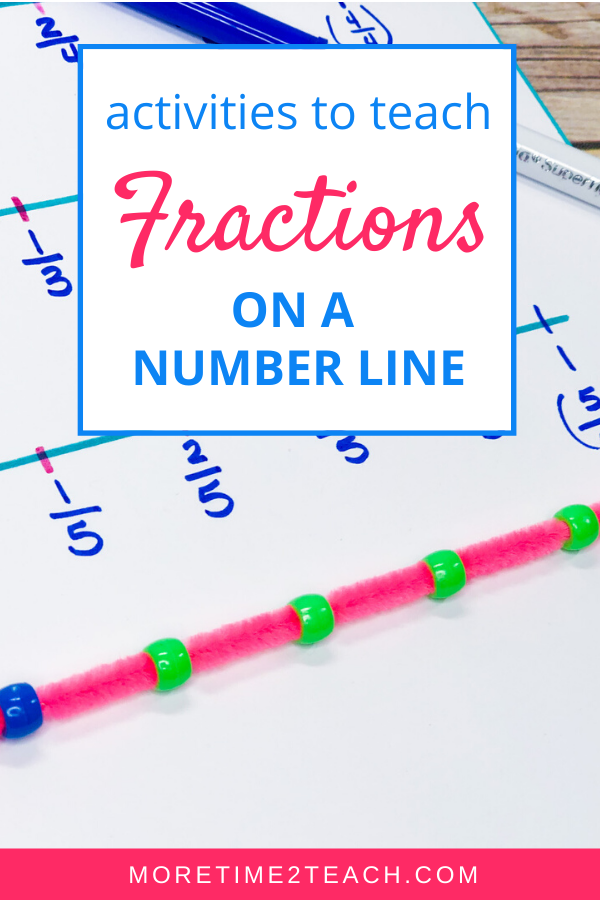 Fractions on a number line is always a tricky lesson for students. But it doesn't have to be... Check out these 4 fun ways to make sure your kiddos understand how to read and write fractions on a number line.